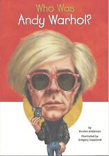 WHO WAS ANDY WARHOL Kids BOOK Pop Art NEW Biography RESOURCE Artist POP CULTURE