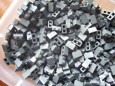 LEGO DARK GRAY 1 X 2  ( 50 ) BRICKS