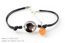 Beauceron. Bracelet for people who love dogs. Photojewelry. Handmade. Ca