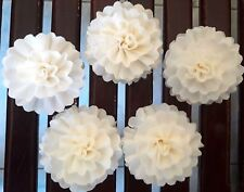 Carnation Flowers Balsa Wood Craft Decor Home Fragrance Bride Spa Party Gift 5CM