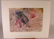 Contemporary Art Painting Sylvie Boulet Titled 'Bird of Paradise' Dated 1986