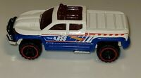 2013 HOT WHEELS OFF DUTY 1:64 DIECAST RED/WHITE/BLUE  PICKUP TRUCK loose