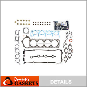 Fits Nissan 95-99 240SX KA24DE Valve Cover Gasket Set NVCSKA24DL