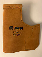 Galco Pocket Protector Holster. Kimber Solo 9mm  Ambi.  Natural