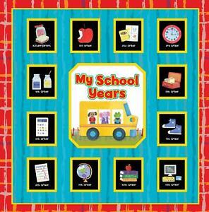 Phoenix Int. E1 School Years 12in 12 Pocketful Memories Album Book Pre K-12grade