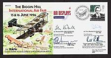 SIGNED LIMITED EDITION COVER BIGGIN HILL AIR FAIR AIR MARSHAL KEMBALL WW2 PILOT
