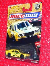 2017 Hot Wheels  MAZDA RX3 CAR CULTURE RACE DAY DWH77-4B10 Real Riders
