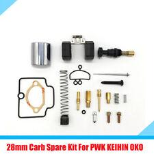 28MM Carburetor Carb Repair Rebuild Spare Jets Replacement Kit for Motorcycle