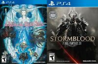 Final Fantasy XIV A Realm Reborn Collectors Edition + Stormblood Expansion PS4