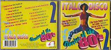 CD 14T ITALO DISCO 80's GAZEBO/FUN FUN/FINZY KONTINI/GARY LOW/SILVER POZOLLI