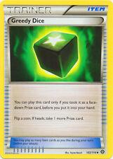 4X Greedy Dice 102/114 XY Steam Siege Uncommon MINT! Pokemon