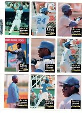 KEN GRIFFEY JR 1992 FRONT ROW CLUB HOUSE SET OF 10 CARDS