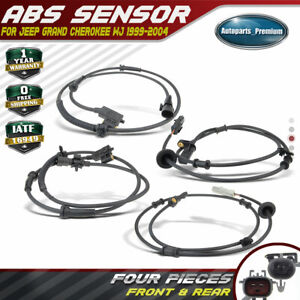 ANPART ABS Wheel Speed Sensor Left+Right+Rear Fits for 1999-2004 Jeep Grand Cherokee