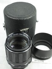 PENTAX SUPER TAKUMAR 105mm f2.8 m42 MOUNT LENS W/HOOD&CASE EXCELLENT L@@K
