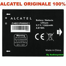 BATTERIA 1300Mah ORIGINALE PER ALCATEL ONE TOUCH POP C1 4015 CAB31P0000C1 OT 990