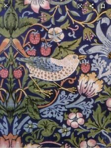 """William Morris """"Strawberry Thief"""" detail cards notelets + envs 5 pack A6 blank"""
