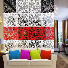 1pc Butterfly Flower Hanging Screen Room Divider Partition Wall Home Sticke HC