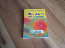 Buch : Mineralstoffe nach Dr. Schüssler - Körperliche und seelische Gesundheit