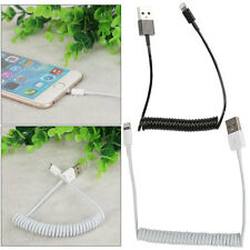 1.8m USB BASEUS LIGHTNING COILED CABLE FOR IPHONE 7 6 6S PLUS SE 5 IPAD AIR