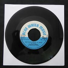 "CLINTON GRANT Put Your Hand In Mine BLUE WATER MUSIC UK Press 7"" 45 REGGAE"