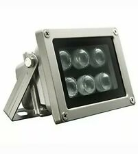 Univivi Infrared Illuminator, 850nm 6 LEDs 90 Degree Wide Angle IR Illuminator