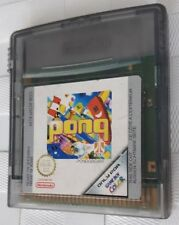 Pong for Nintendo Gameboy Color (Cart Only)