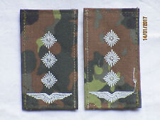 Bw-Rangabzeichen: Hauptmann, Luftwaffe, weiß/flecktarn, Klettverschluß