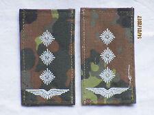 distintivi rango Bundeswehr: Capitano,Luftwaffe,bianco/flecktarn,