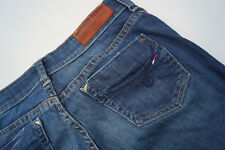 TOMMY HILFIGER Rosie Mid Blue Damen stretch Jeans Hüft Hose 26/34 W26 L34 TOP#78