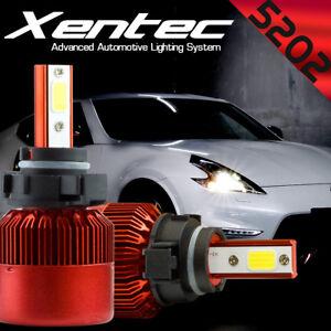 5202 2504 5201 LED Fog Lamp Bulbs 388W 38800LM Car Conversion Kit 6000K White