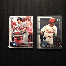 2016 Bowman St Louis Cardinals Team Set 16 Cards With Stephen Piscoty Chrome +