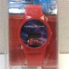 DISNEY PIXAR CARS ~ LIGHTNING MCQUEEN LCD WATCH ~ NEW IN PACKAGING ~ RED