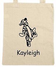 Personnalisé tigrou sac cabas/shopping/sac d'épaule * choix de couleurs *