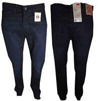 Levis 510 Blu Jeans Slim Skinny Fit Vita Alta W34 36 Levi's Elasticizzati nuovi