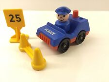 Vintage 1980's Fisher-Price Police Car