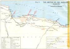 Sidi Barrani .1st Offensiva Britannica Western Desert-I. Battaglia del 1954 DIC 1940 Mappa