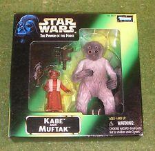 Star wars el poder de la fuerza KABE Y Muftak
