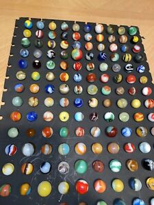 Lot of 150 ESTATE SALE FIND Vintage & Antique Marbles w/ Shooters, Germans
