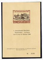 Saar Stamps B76 1976 Auto Club Card Scarce Item