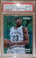 Pop 3🔥2014 Anthony Davis PANINI PRIZM SP VARIATIONS GREEN MOJO 5 /25 PSA 10 BGS