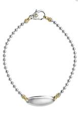 Lagos Caviar Beloved Sterling Silver 18K Gold Bracelet