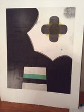 1976 JACOB KAINEN Engraving PRINT * Signed Numbered * Modern Contemporary Art