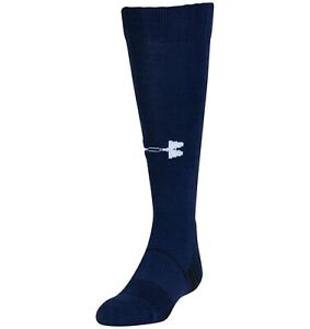Under Armour Kids UA Over The Calf Team Socks, Navy, YLG, 2.99 Shipping