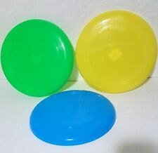Generics 9-Inch Flying Disc for Dogs. Blue, Green, Yellow. Pack of 3.
