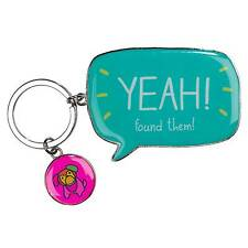 Yeah! Found Them! Keyring by Happy Jackson and Wild & Wolf