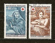 1969 - Paire Croix-Rouge n°1619 - 20