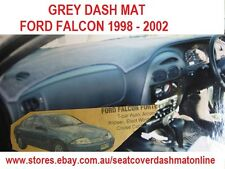 GREY DASH MAT, DASHMAT,DASHBOARD COVER FIT FORD AU 1998-2002,  GREY