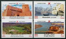 More details for oman landscapes stamps 2020 mnh tourism architecture forts bridges 4v set