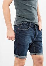 NEU! Herren Jeans Shorts kurze Sommer Hose Bermuda denim dark Q/S by S.Oliver