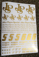 RC 'JPS' GOLD style Nascar Drift 1/10th decals stickers